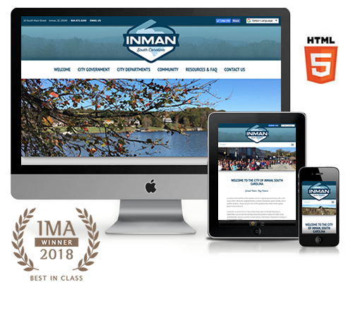 City of Inman Website