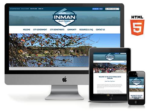 City of Inman Website